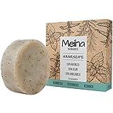 Meina - Haarseife Naturkosmetik - Bio Shampoo Bar mit Brennnessel, Pfefferminze und Rosmarin (1 x 80...