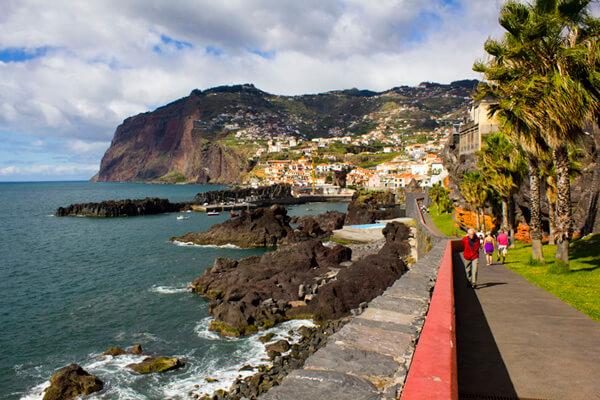 camara de Lobos mit Promenade