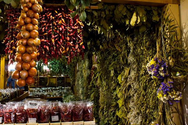 Kräuter auf dem Markt in Madeira