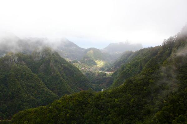 Nebel über Madeira