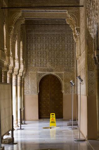 Alhambra verzierte Gänge