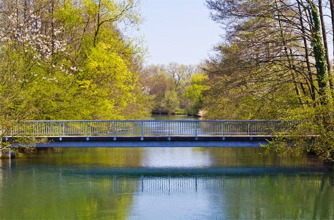 Radtour nach Spanien Brücke