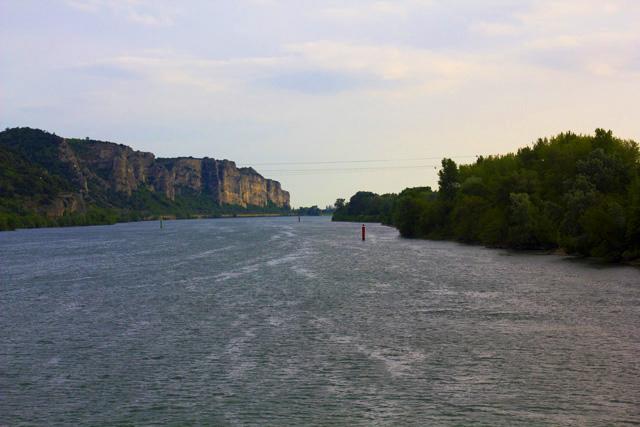 Frankreich Rhone Radtour nach Spanien