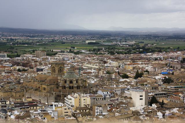 Granada von der Alhambra aus