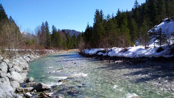 Bach in der Nähe vom Tegernsee