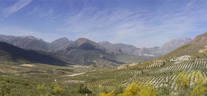 Radreise durch Andalusiens Berge Panorama und Landschaftsfotografie