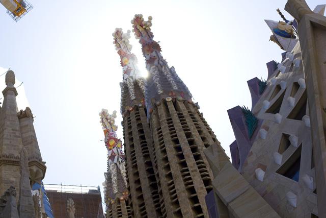 Barcelona Sagrada Familia Radtour nach Spanien