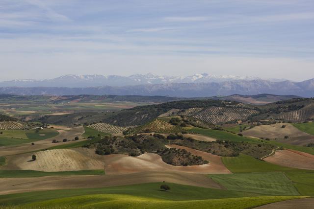 Berge in Spanien Andalusien