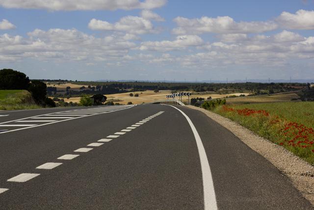 Straße durch die Mancha