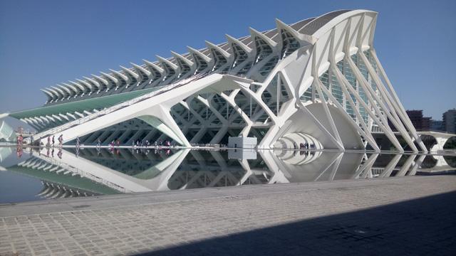 Valencia stadt Radtour nach Spanien