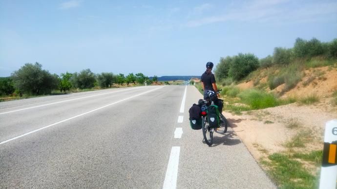 thomas radreise spanien fahrrad
