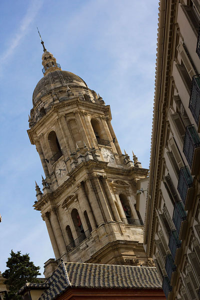 Kathedrale Malaga schräge Perspektive in der Fotografie