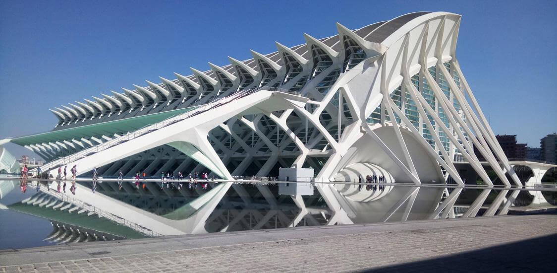 Valencia Stadt der Wissenschaften und Künste