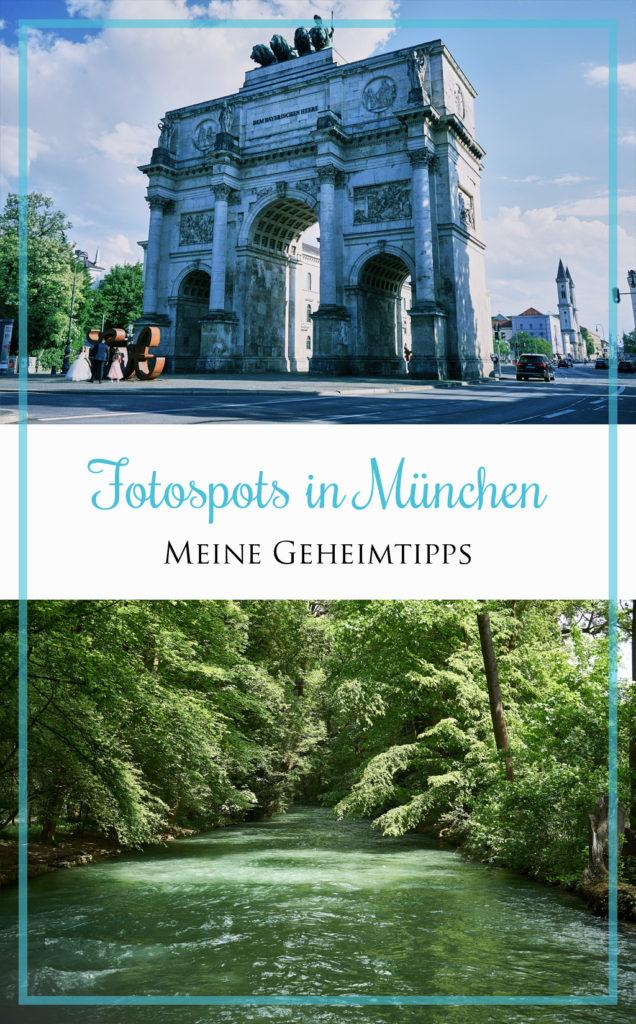 Fotospots München & Fotolocations Siegestor, Marienplatz Isar und mehr