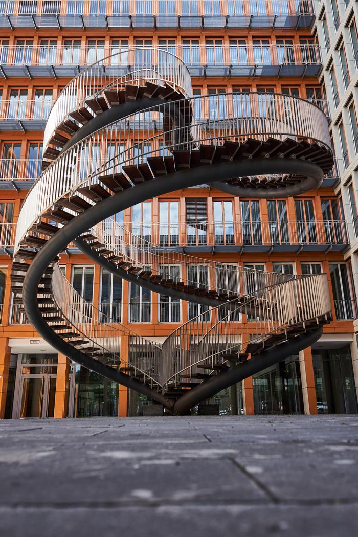 Endlose Treppe Fotolocations in München
