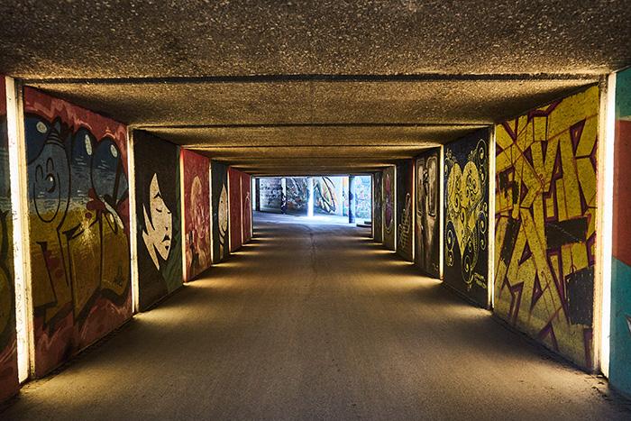 Fotospots in München - Friedensengel Passage