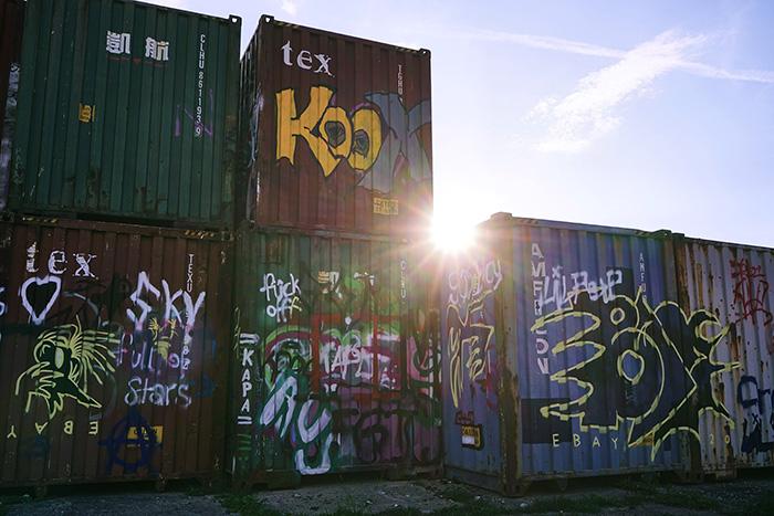 Fotospots in München - alter Viehhof Container