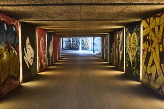 Street Art in München - Friedensengel Passage Titelbild