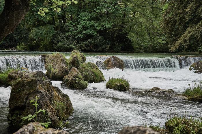 enlgischer Garten Wasserfall Fotolocations in München