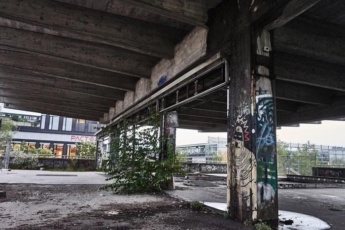 verlassener Bahnhof Olympiapark