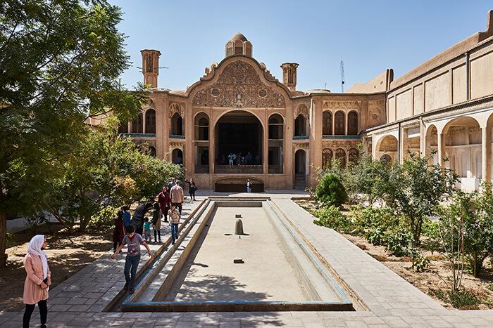 Ein Herrenhaus im Iran Iran Reise-Erfahrungen