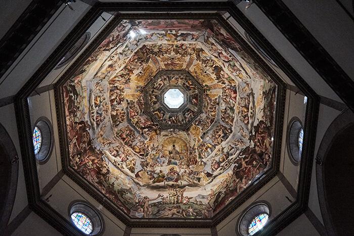 Kuppel der Kathedrale Sehenswürdigkeiten in Florenz