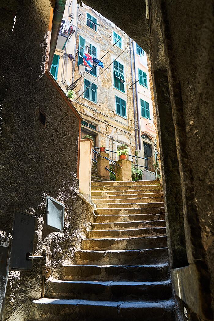 Kleine Gasse in Riomaggiore