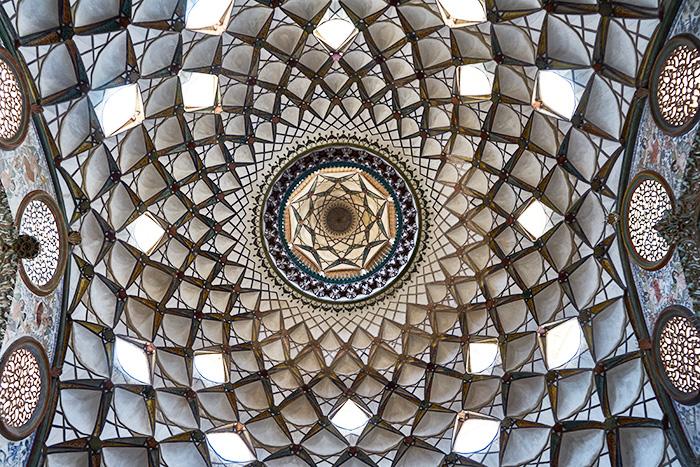 Muster einer Kuppel Iran Reise-Erfahrungen