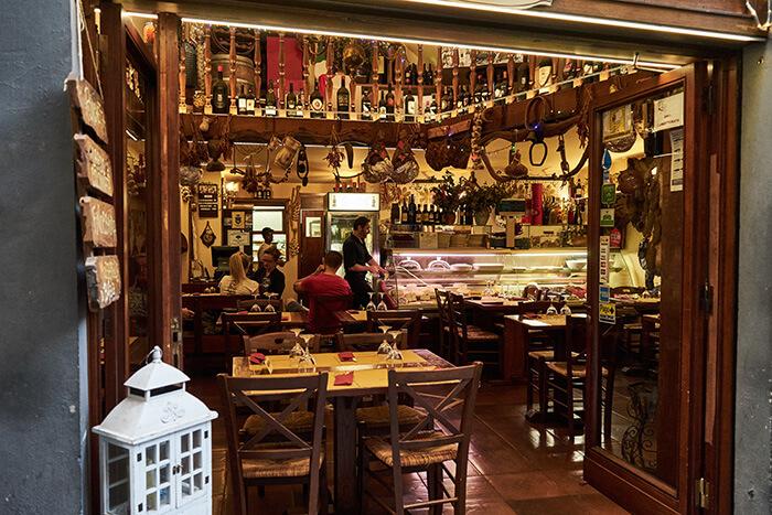 Restaurant in Florenz Sehenswürdigkeiten