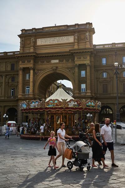 La Piazza della Repubblica