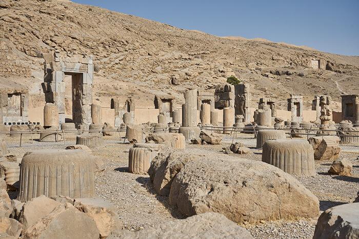 Backpacking im Iran Persepolis