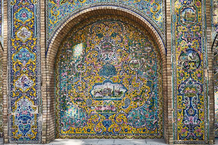 Backpacking im Iran Golestan Palast