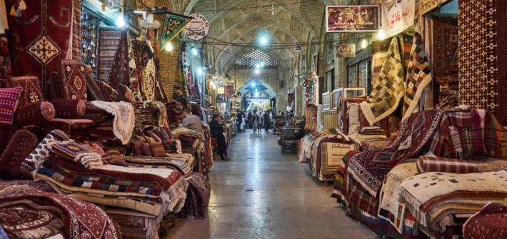 Basar in Shiraz im Iran Reiseplanung