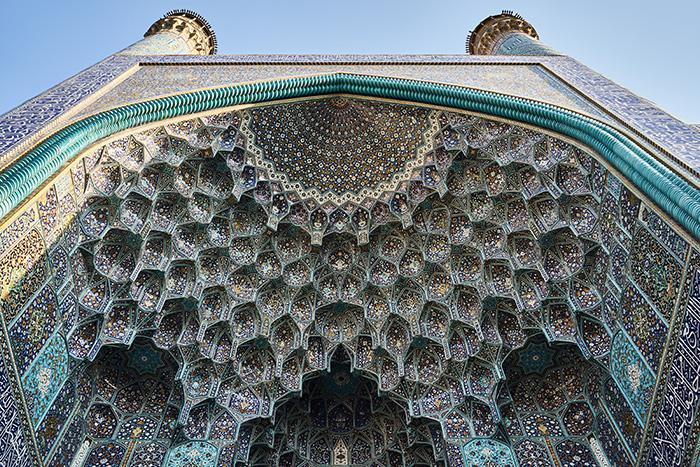 Moschee in Isfahan Reiseplanung im Iran
