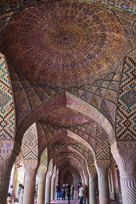 Die Pinke Moschee in Shiraz