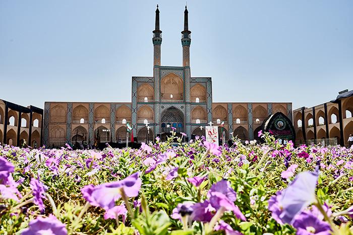 Platz in Yazd Reiseplanung Iran