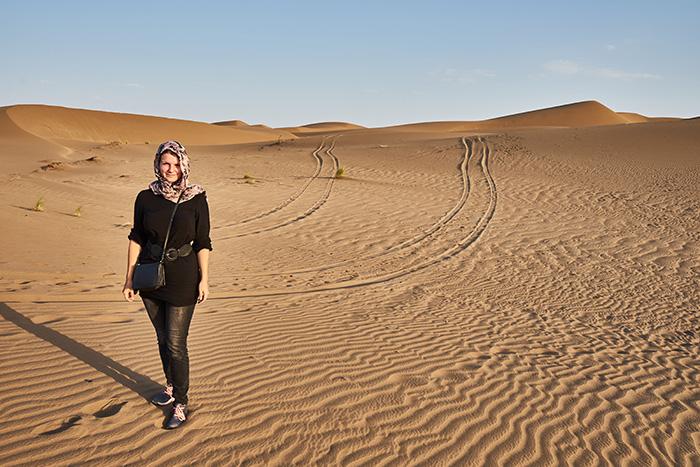 Kopftuch Reiseplanung im Iran