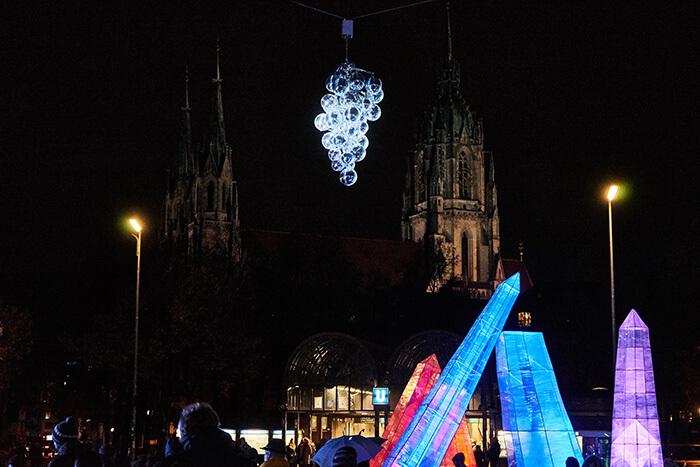 Kunst Tollwood Winterfestival München