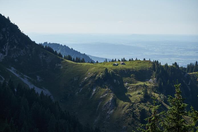 Aussicht vom Brauneck