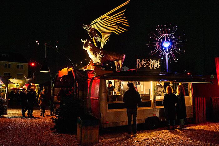 besonderer Weihnachtsmarkt in München Märchenbazar