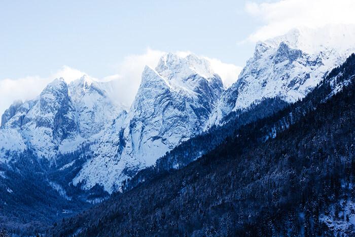 Wilder Kaiser Wandern im Winter