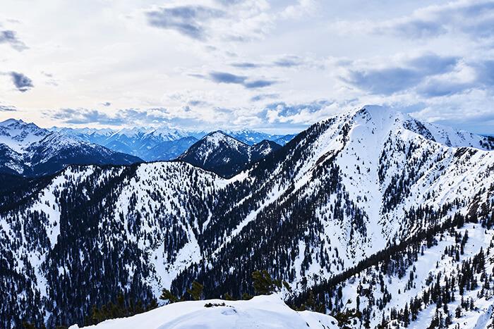 Wandern am Herzogstand Aussicht Martinskopf