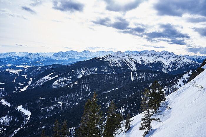 Martinskopf Gipfel Wandern am Herzogstand
