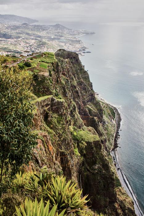 Sehenswürdigkeiten Madeira Klippe