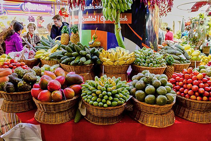 Die Markthalle in Funchal