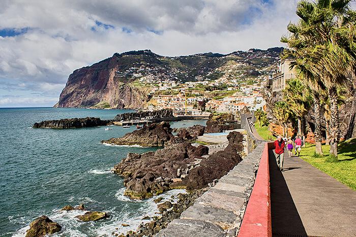 Auf dem Weg nach Camara de Lobos Madeira