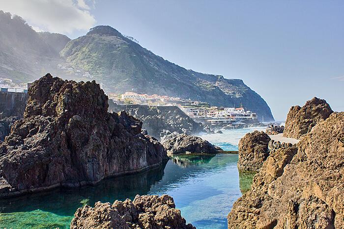 Madeira Sehenswürdigkeiten Porto Moniz