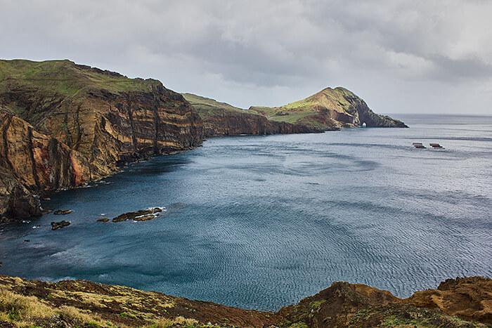 Madeira Sehenswürdigkeiten Ponta de São Lourenço Klippen