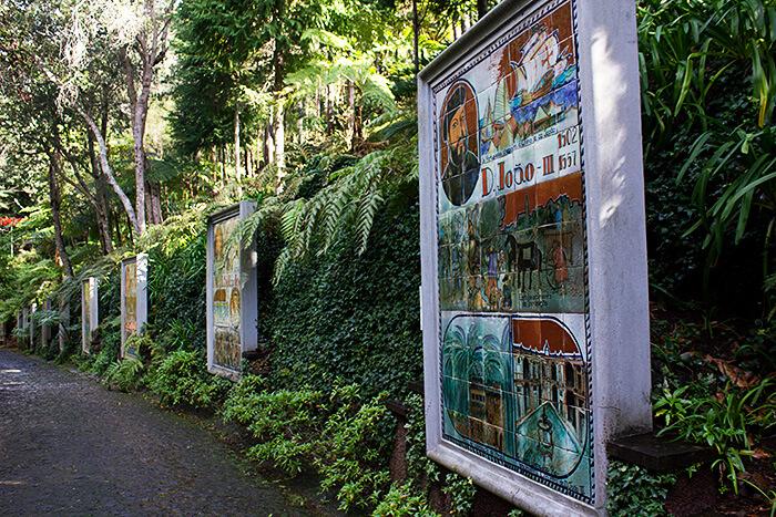 Tropischer Garten Funchal
