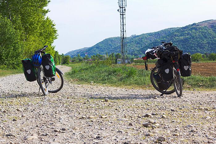 Radreise Spanien